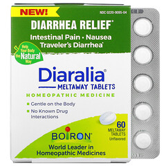 Boiron, Diaralia 腹瀉舒緩即溶片,原味,60 片裝