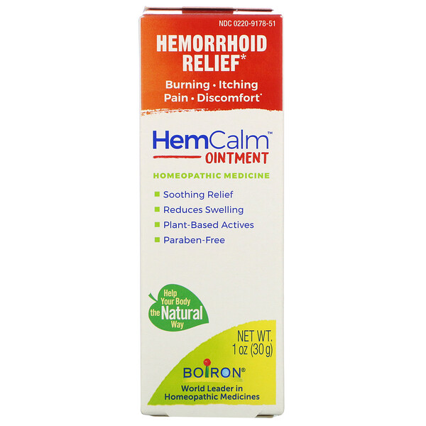 HemCalm Ointment, Hemorrhoid Relief, 1 oz (30 g)