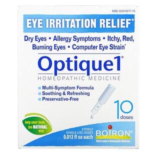 Boiron, Optique1,緩解眼睛刺激,10 劑,每劑 0.013 液量盎司