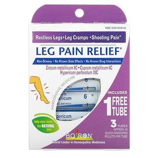 Boiron, Leg Pain Relief, 3 Tubes, Approx. 80 Quick-Dissolving Pellets Per Tube