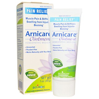 Boiron, Arnicare Ointment, Pain Relief, Unscented, 1 oz (30 g)