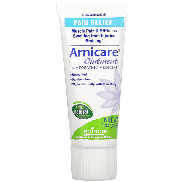 Arnicare Ointment, Pain Relief, Unscented, 1 oz (30 g)