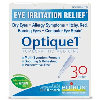 Optique 1, средство от раздражения глаз, 30 доз, 0,38 мл (0,013 жидкой унции) каждая
