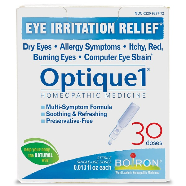 Optique 1, Eye Irritation Relief, 30 Doses, 0.013 fl oz Each