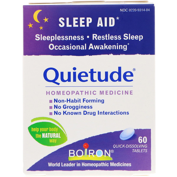 Quietude, Sleep Aid, 60 Quick-Dissolving Tablets