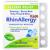 Boiron, Kids, RhinAllergy, Allergy Relief, 60 Quick-Dissolving Tablets