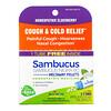 Boiron, Sambucus, Cough & Cold Relief, Meltaway Pellets, 6C, 3 Tubes, Approx. 80 Pellets Each