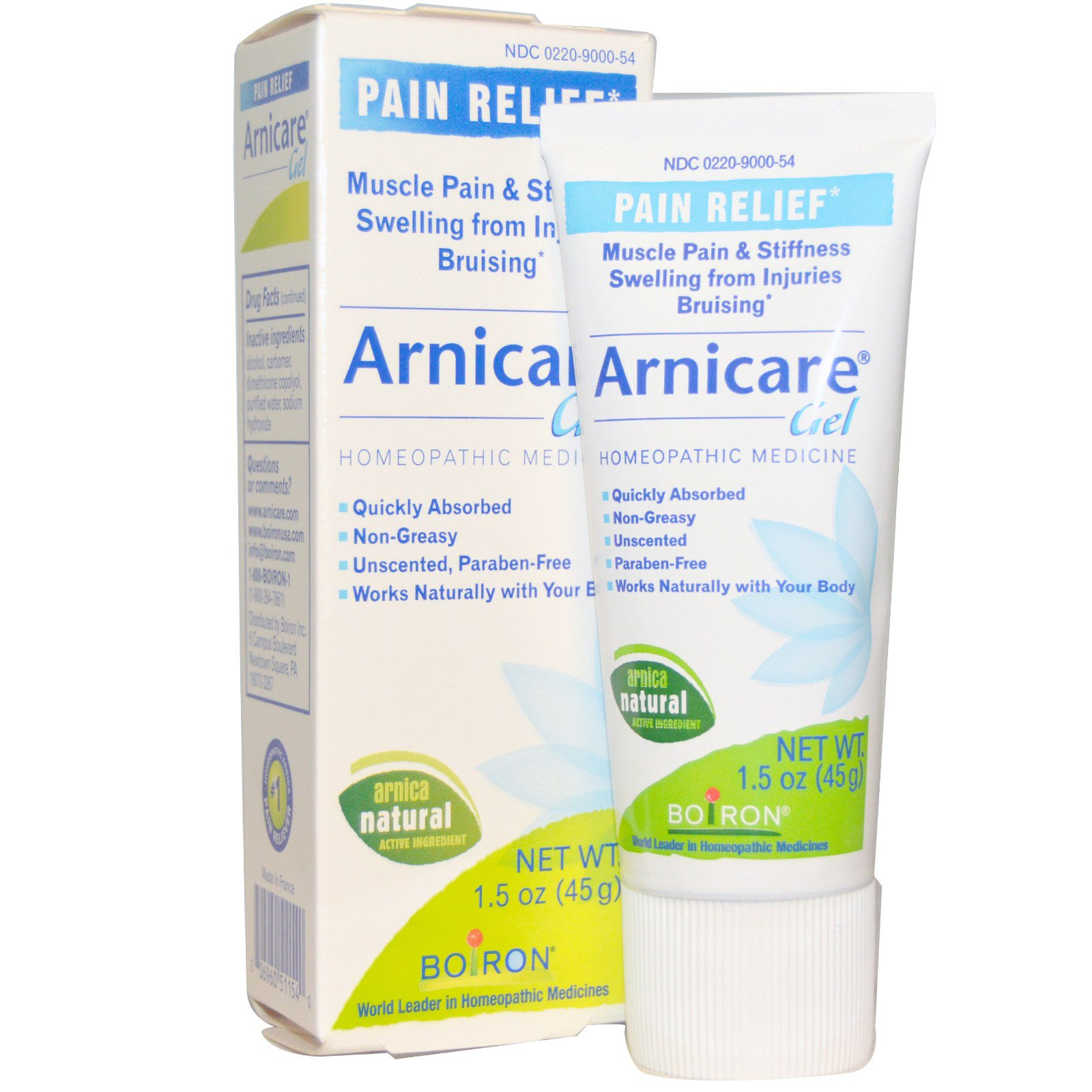 Arnica cream vs boiron gel