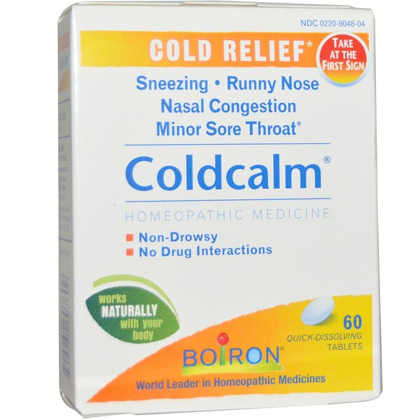 Coldcalm, Cold Relief, 60 Quick-Dissolving Tablets