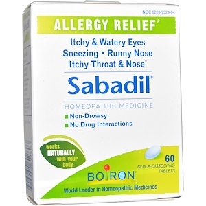 Бойрон, Sabadil, 60 Quick-Dissolving Tablets отзывы