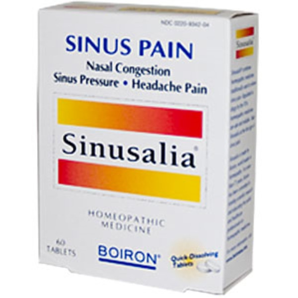 Boiron, Sinusalia, 60 Tablets (Discontinued Item)