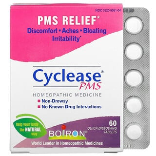 Boiron, Cyclease PMS, 60 Quick-Dissolving Tablets