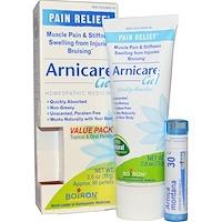Arnicare гель и гранулы для рассасывания, экономная упаковка 2.6 унции (75 г) тюбик + 80 гранул - фото