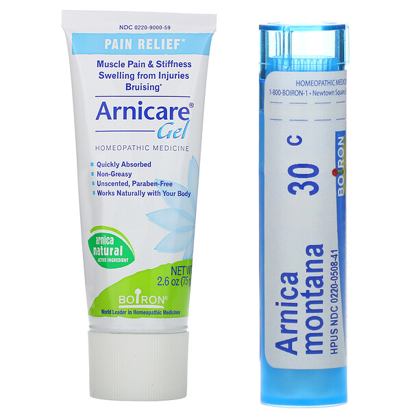 Topical & Oral Pellets Value Pack, Arnica Pain Relief, 2.6 oz (75 g) Tube + 80 Pellets