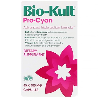 Bio-Kult, Pro-Cyan, Advanced Triple Action Formula, 400 mg, 45 Capsules