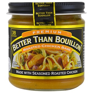 Better Than Bouillon, Base para pollo asado, Premium, 8 oz (227 g)