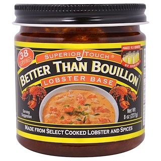 Better Than Bouillon, Base de langosta, 8 oz (227 g)