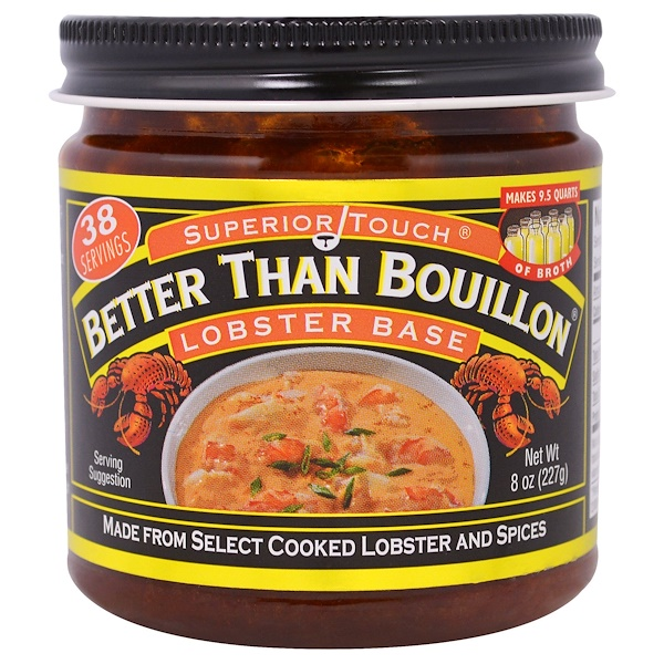Better Than Bouillon, Бульонный концентрат с омарами, 8 унций (227 г) (Discontinued Item)