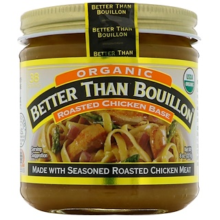 Better Than Bouillon, Orgánico, Base para pollo asado, 8 oz (227 g)