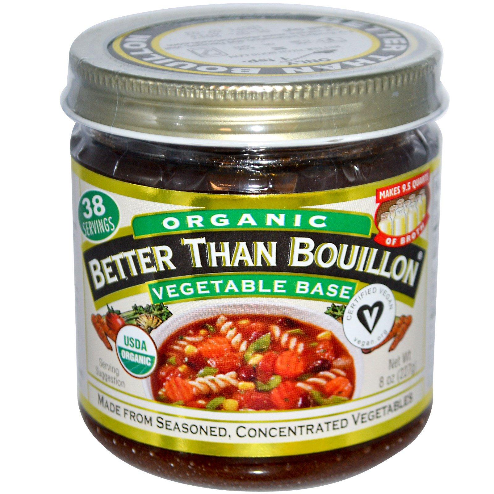 Organic, Vegetable Base, 8 oz (227 g