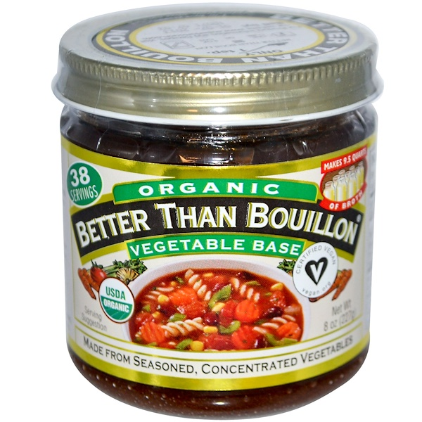 Better Than Bouillon, Organic, Vegetable Base, 8 oz (227 g) (Discontinued Item)
