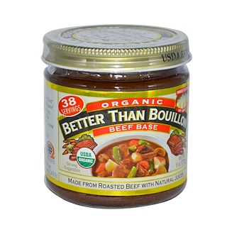 Better Than Bouillon, Organic Beef Base, 8 oz (227 g)