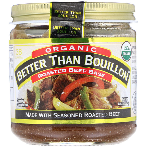 Better Than Bouillon, Organic Roasted Beef Base, 8 oz (227 g) (Discontinued Item)