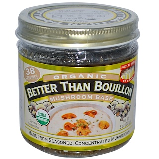 Better Than Bouillon, Orgánico, Base de Champiñones, 8 oz (227 g)