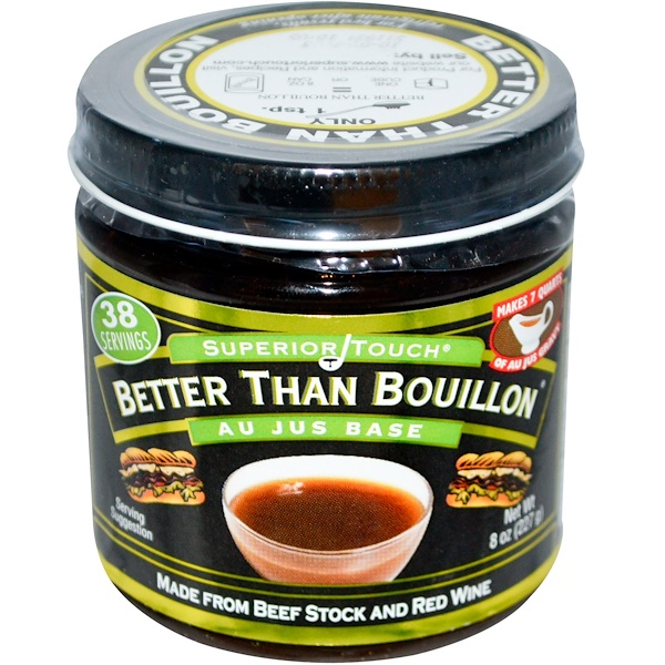 Better Than Bouillon, Superior Touch, Au Jus Base, 8 oz (227 g) (Discontinued Item)