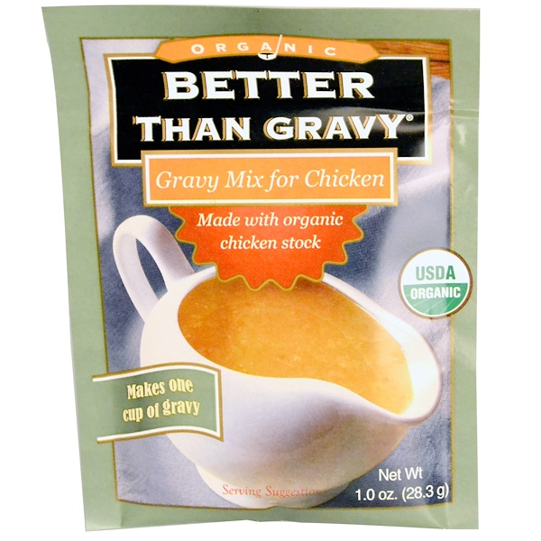 Better Than Bouillon, Органика, Соус для курицы, 1 унция (28,3 г) (Discontinued Item)