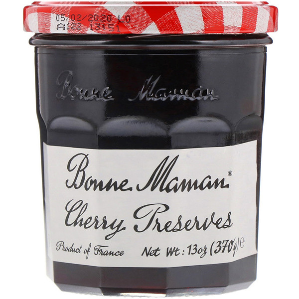 Bonne Maman, Cherry Preserves, 13 oz (370 g) (Discontinued Item)