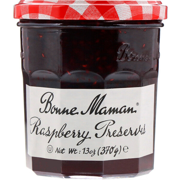 Raspberry Preserves, 13 oz (370 g)