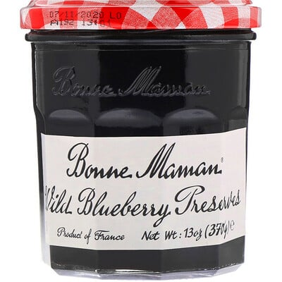 Купить Bonne Maman Wild Blueberry Preserves, 13 oz (370 g)