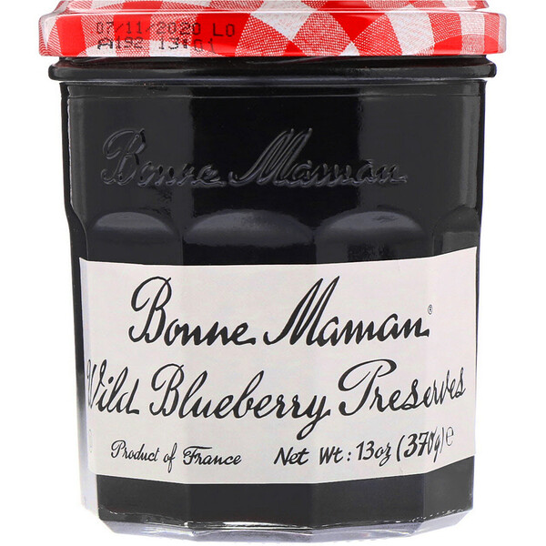 Wild Blueberry Preserves, 13 oz (370 g)