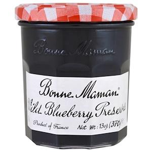 Bonne Maman, Wild Blueberry Preserves, 13 oz (370 g) инструкция, применение, состав, противопоказания