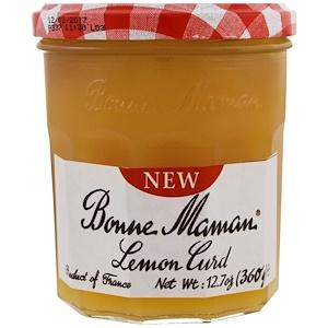 Bonne Maman, Lemon Curd, 12.7 oz (360 g) инструкция, применение, состав, противопоказания