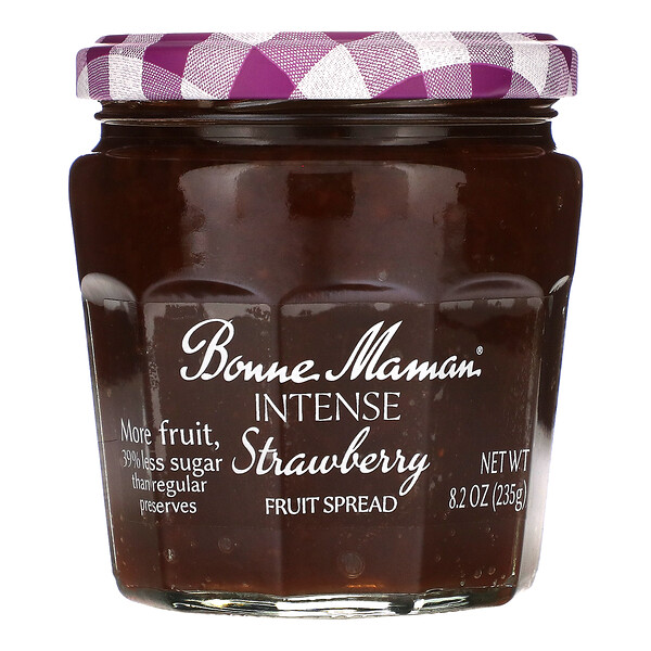 Intense Strawberry Fruit Spread, 8.2 oz (235 g)