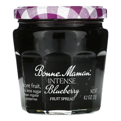 Купить Bonne Maman Intense Blueberry Fruit Spread, 8.2 oz (235 g)