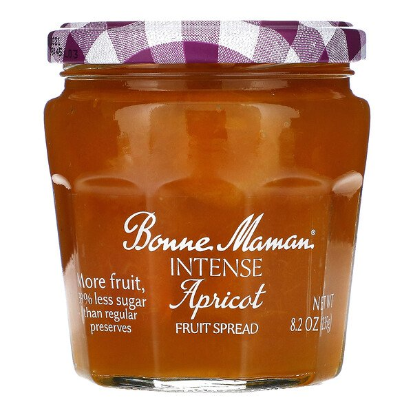Bonne Maman, Intense Apricot Fruit Spread, 8.2 oz (235 g)