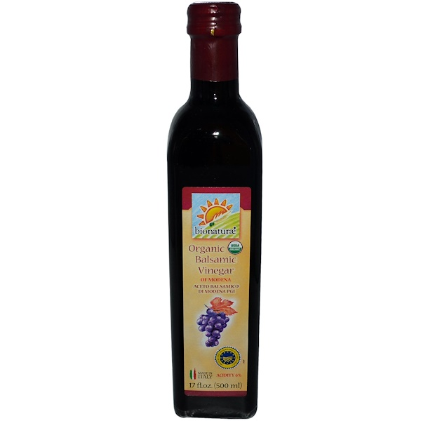 Bionaturae, Organic Balsamic Vinegar, 17 fl oz (500 ml) (Discontinued Item)