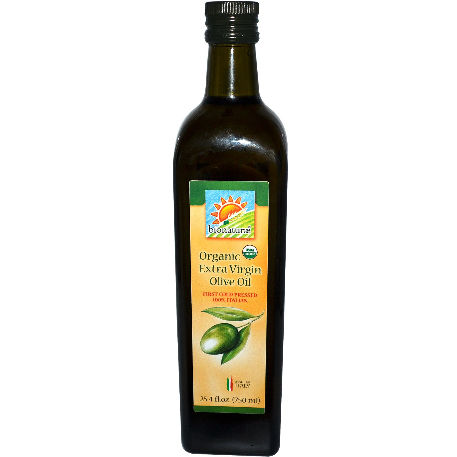 Bionaturae, Organic Extra Virgin Olive Oil, 25 4 fl oz (750 ml
