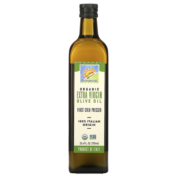 Organic Extra Virgin Olive Oil, 25.4 fl oz (750 ml)