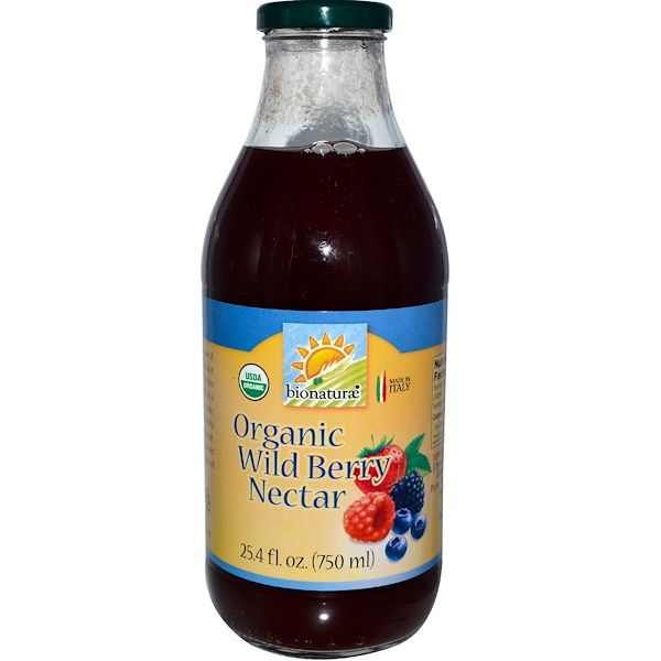 Bionaturae, Organic Wild Berry Nectar, 25.4 fl oz (750 ml) (Discontinued Item)