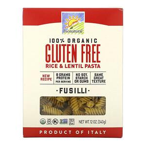 Бионатурае, 100% Organic Gluten Free Rice & Lentil Pasta, 12 oz (340 g) отзывы покупателей