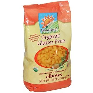 Bionaturae, Organic Gluten Free Elbows Pasta, 12 oz (340 g)