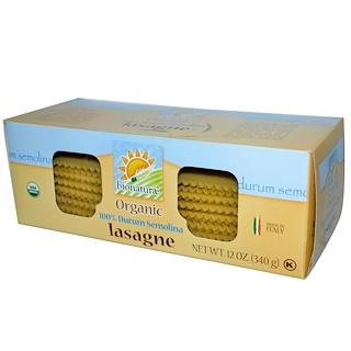 Bionaturae, Organic 100% Durum Semolina Lasagne, 12 oz (340 g)