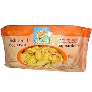 Бионатурае, Traditional Egg Pasta, Pappardelle, 8.8 oz (250 g) отзывы
