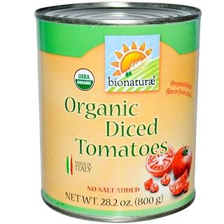 Bionaturae, Tomates Orgánicos, Troceados, 28.2 oz (800 g)