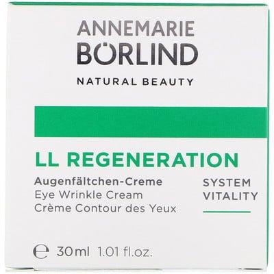 Купить Регенерирующий крем для век от морщин LL, 1, 01 жидкой унции (30 мл)
