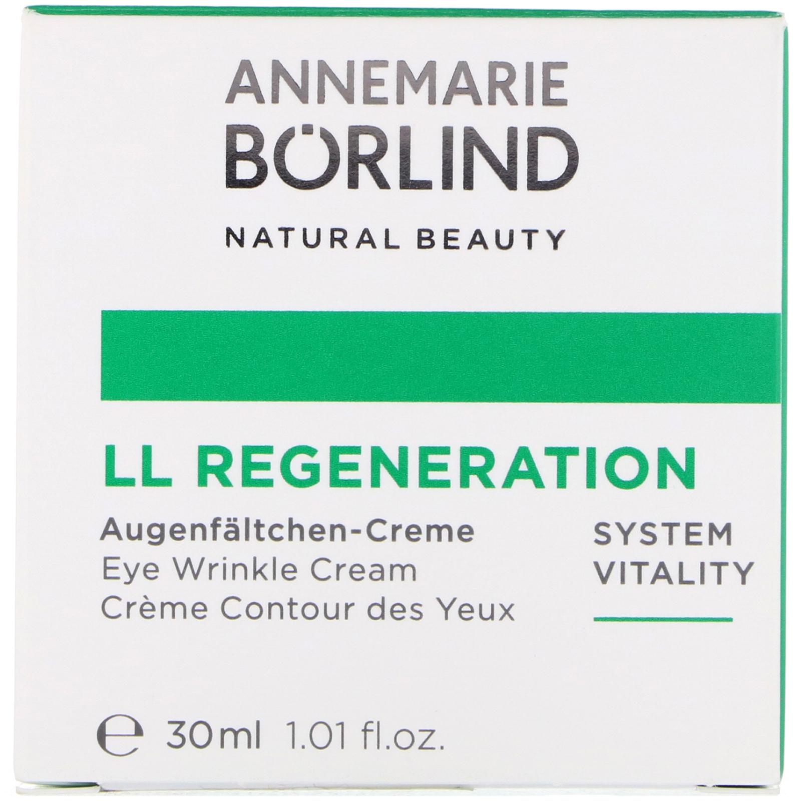 AnneMarie Borlind, LL Regeneration, Eye Wrinkle Cream, 1 01 fl oz